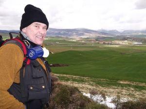 High up Mt Perdon