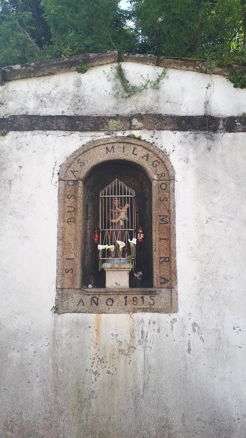 Shrine to Saint Anthony at Sigras de Abaixo